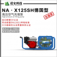 新疆NA·X125SH德国型高压空气充填泵
